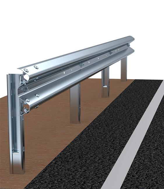 H1BL600 Barriere Stradali Rilevato Imeva