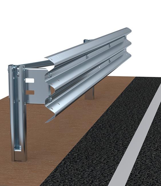 H2BL300 Barriere Autostradali Bordo Ponte Imeva