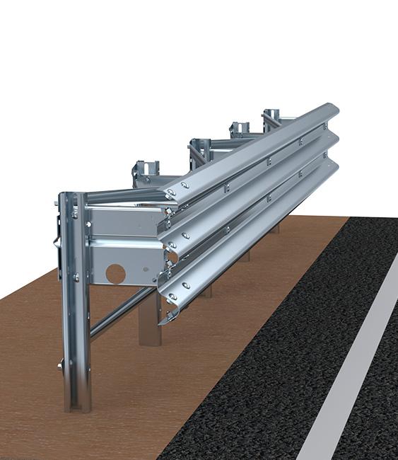 H2BL500 | Barriere Autostradali in rilevato | Imeva