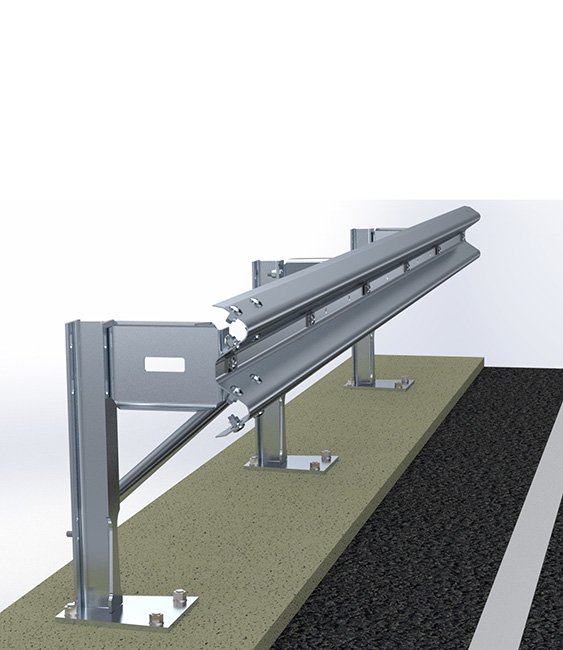 H2BP500   Barriere Autostradali Bordo Ponte   Imeva