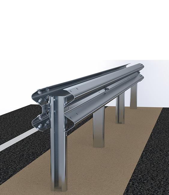 Barriere Autostradali   Barriere Spartitraffico in Rilevato