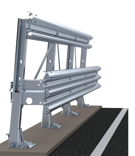 Barrières d'autoroute | Glissières latérales pour le bord de pont | Imeva