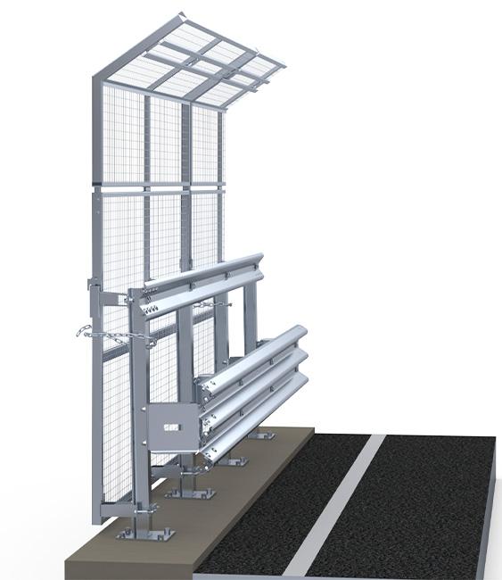 H4BP600 avec Panel | Glissières d'autoroute | Glissières latérales pour le bord de pont | Imeva